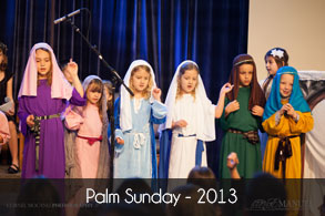 Palm Sunday - 2013